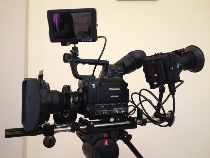 Camera gear SmallHD