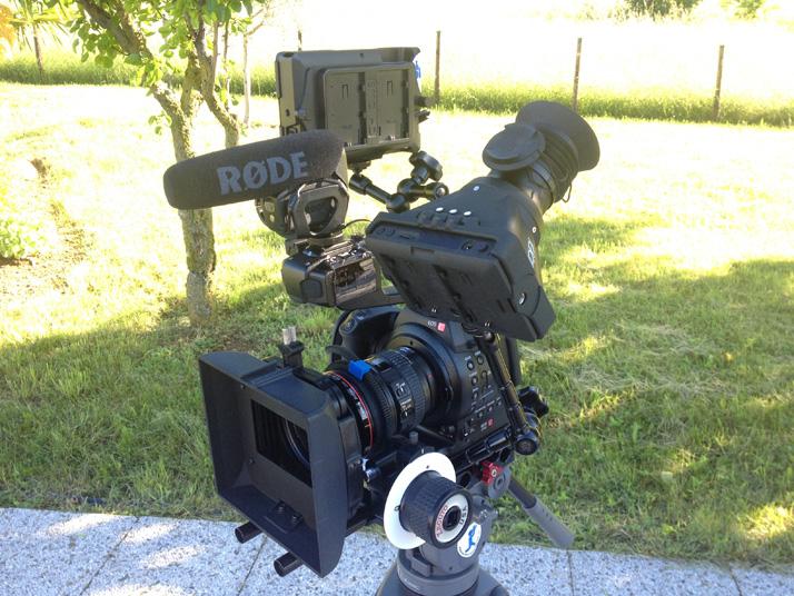 Canon EOS C100 rig