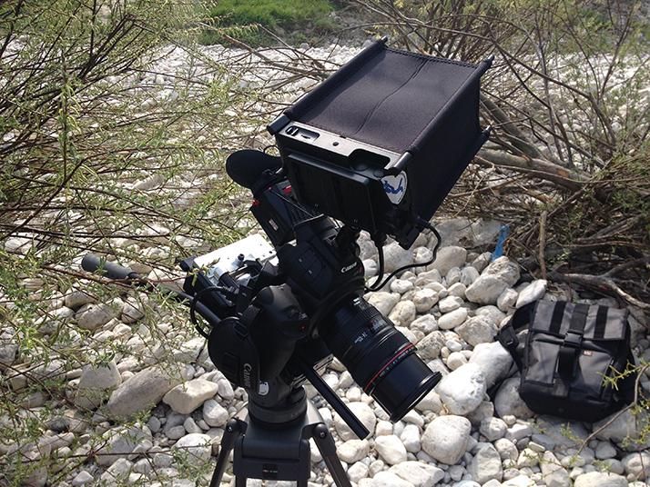 Canon C100, Zacuto, SmallHD