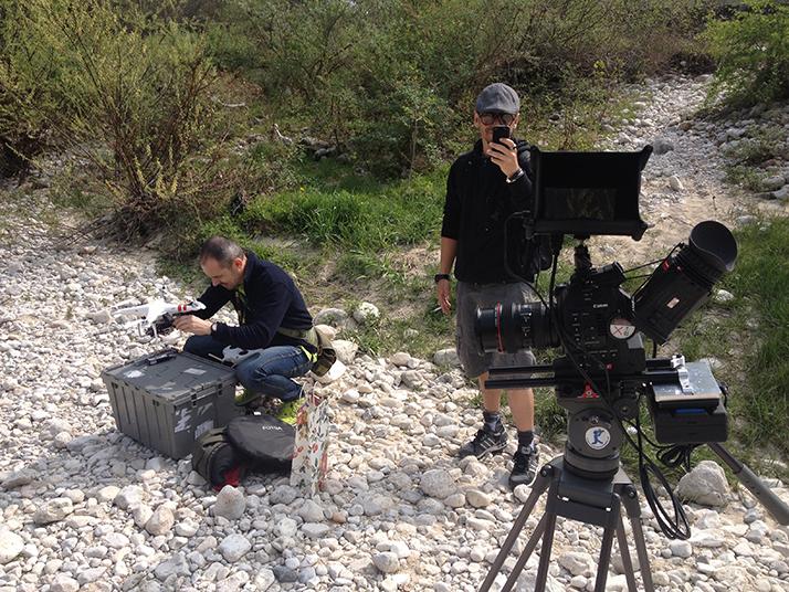 Max e Juri, drone