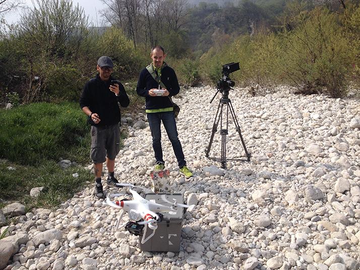 Max, Juri, drone