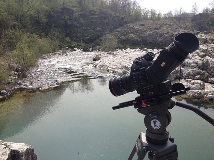 Canon C100, Zacuto Z-Finder