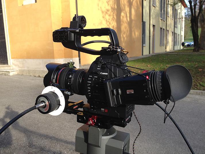 Camera rig, Zacuto accessories