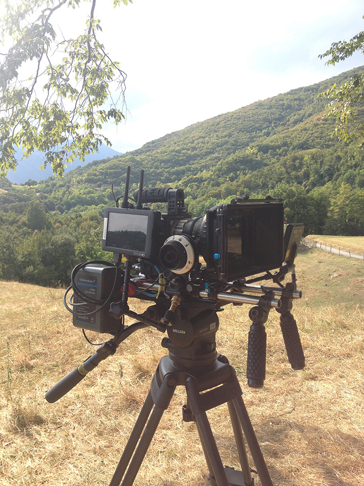 red epic rig