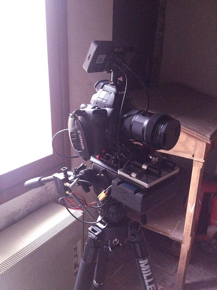 Canon C100 SmallHD 502