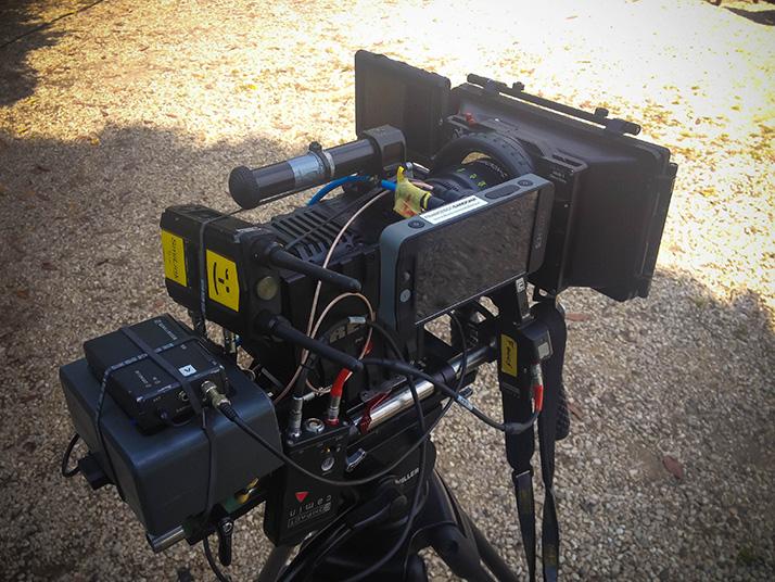 red camera smallhd 502